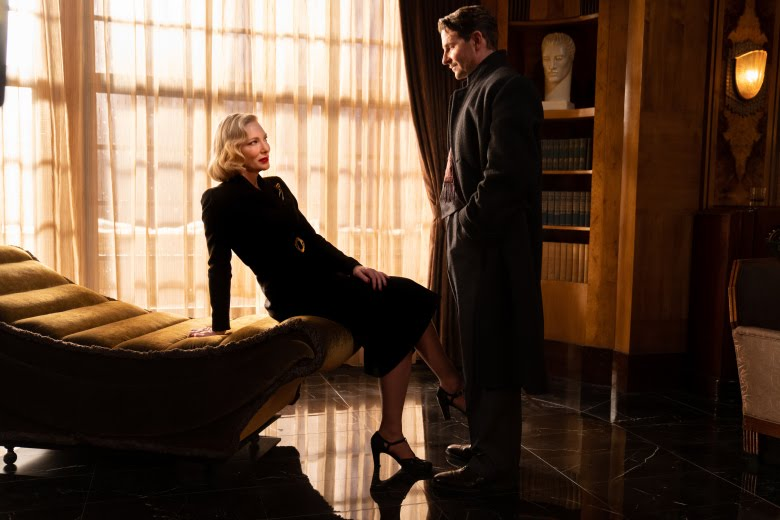 [Nightmare Alley Movie Still] The Oscar-winning filmmaker directs Bradley Cooper and Cate Blanchett in a story of seduction and treachery.